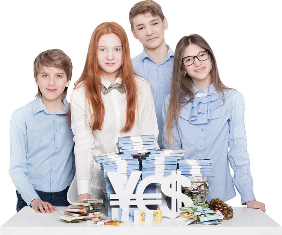 Инвестиции подросткам